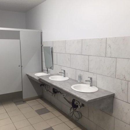office bathroom renovation