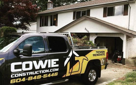cowie construction truck