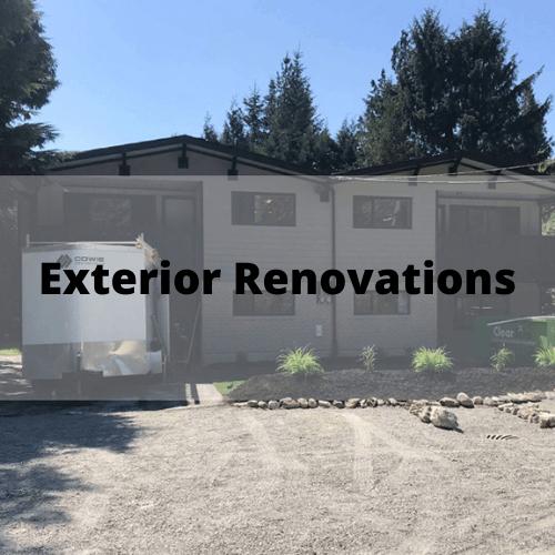 Exterior Renovation Burnaby